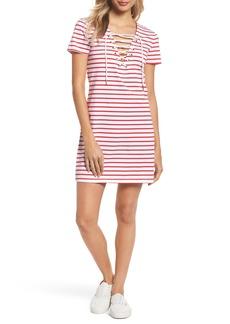 Bardot Stripe Shift Dress