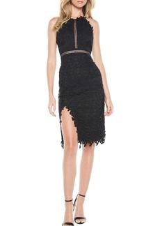 Bardot Tabytha Lace Halter Dress