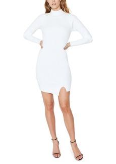 Bardot Tahani Long Sleeve Sweater Minidress