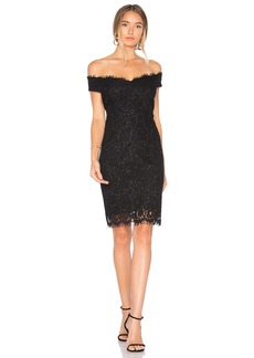 Bardot Tara Lace Off Shoulder Dress