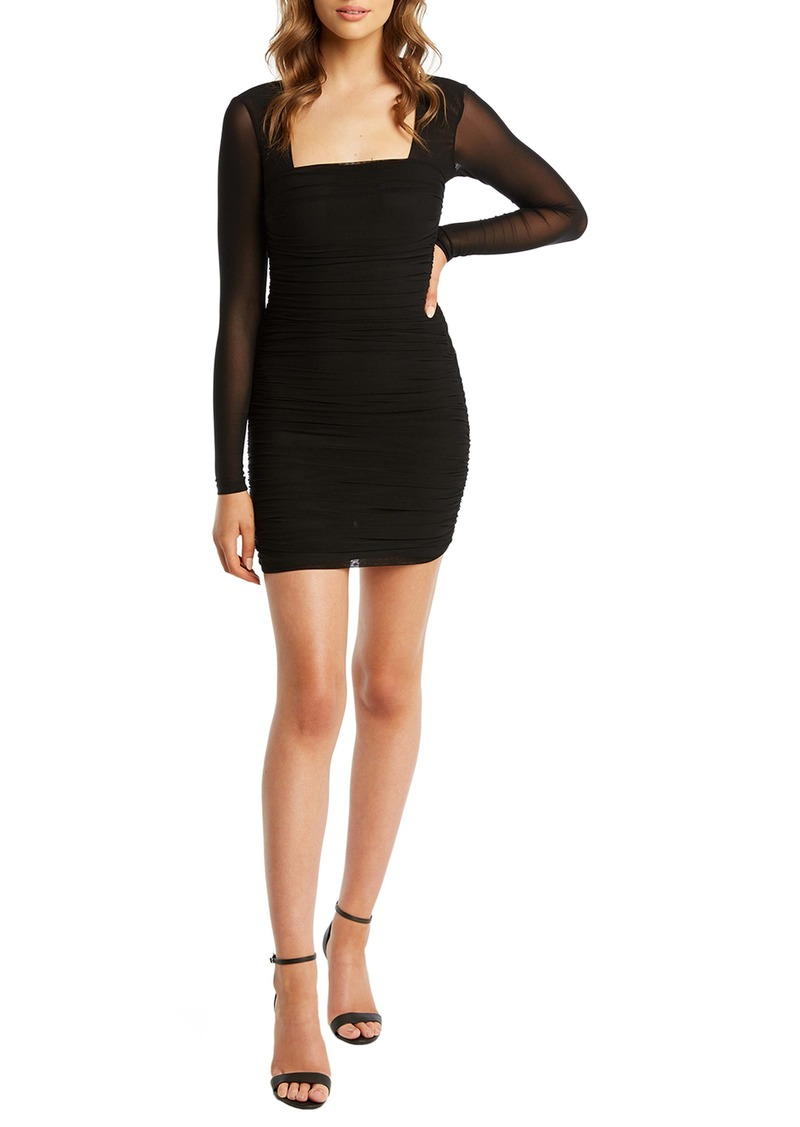 Bardot Tasha Long Sleeve Body-Con Dress
