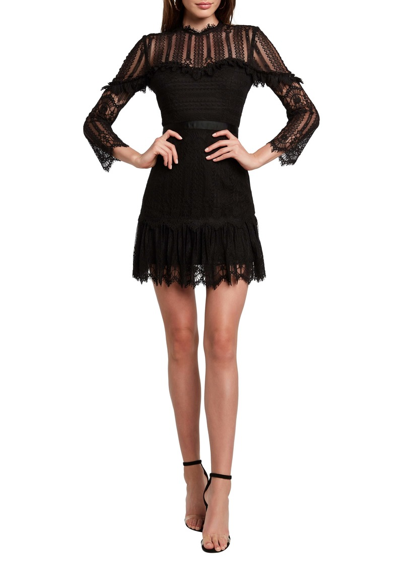 Bardot Tessie Lace Minidress