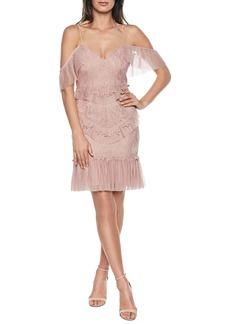Bardot Valorie Lace Cocktail Dress