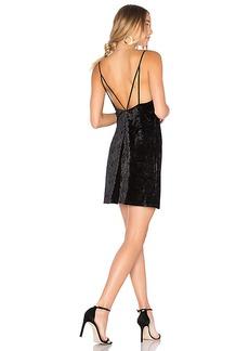 Bardot Velour Slip Dress in Black. - size Aus 10 / US S (also in Aus 12 / US M,Aus 14 / US L,Aus 8 / US XS)
