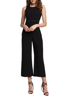 Bardot Wide Leg Crop Jumpsuit