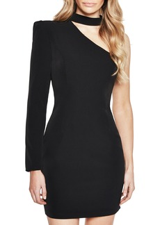Bardot Willow One-Shoulder Choker Dress