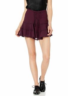 Bardot Women's Anna Flutter Skirt  L