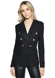 Bardot Women's Doulbe Breasted Felt Jacket
