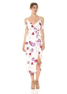 Bardot Women's Floral Wrap Dress  XS