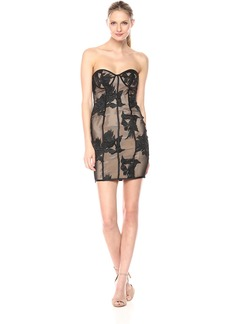 Bardot Women's Flower Mesh Dress