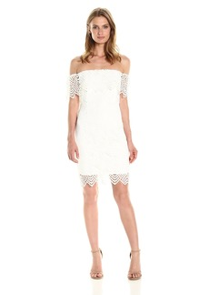 Bardot Women's Geo Lace Dress