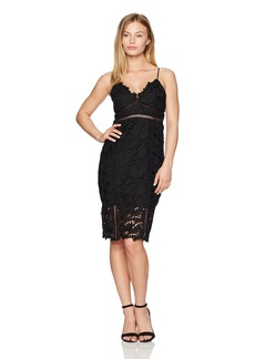 Bardot Women's Petite Botanica Lace Dress  Medium
