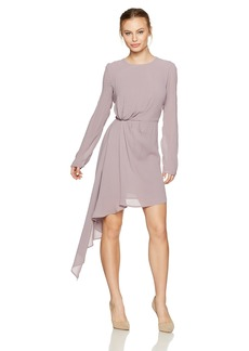 Bardot Women's Petite Stilla Drape Dress  Large
