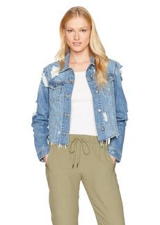 Bardot Women's Trashed Hem Jacket