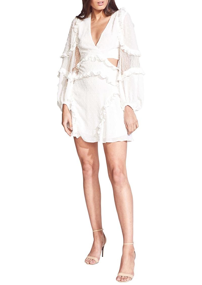 Bardot Ziggy Long Sleeve Minidress