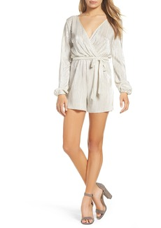 Bardot Ziggy Pleated Romper