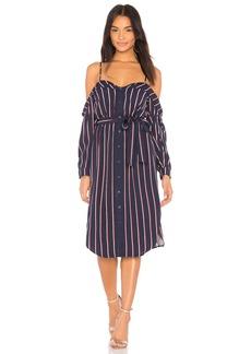 Bardot Cold Shoulder Dress