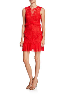 Bardot Francesca Sleeveless Lace Cocktail Dress