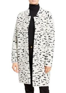 Bardot Leopard-Print Coatigan