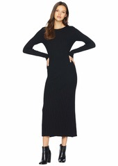 Bardot Low Back Rib Dress