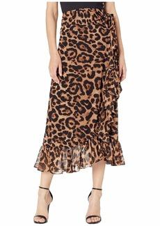Bardot Maxi Leo Wrap Skirt