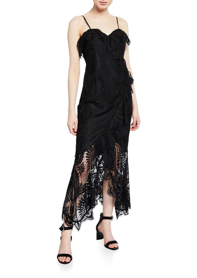 Bardot Melinda Sleeveless Lace Cocktail Dress