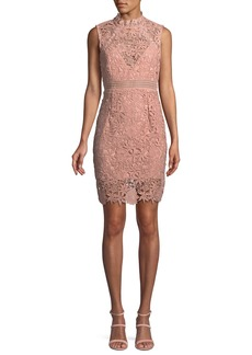 Bardot Paris Floral Lace Mini Dress
