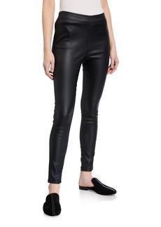 Bardot Raven Faux-Leather Leggings