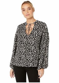 Bardot Rita Leopard Blouse