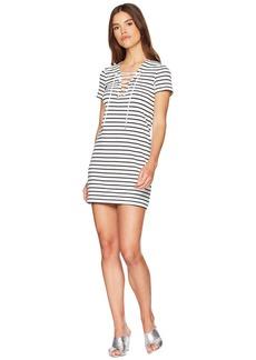 Bardot Stripe Swing Dress