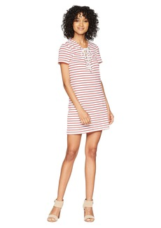 Bardot Stripe Swing Dress