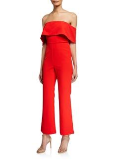 Bardot Zora Off-the-Shoulder Jumpsuit