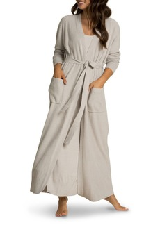BAREFOOT DREAMS CozyChic Lite Ribbed Long Robe