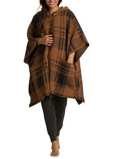 Barefoot Dreams® CozyChic® Plaid Hooded Poncho