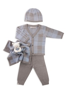 Barefoot Dreams® CozyChic Ultra Lite™ Cardigan, Pants, Beanie & Blanket Set (Baby)