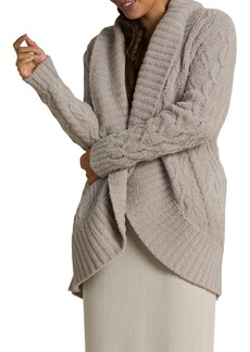 Barefoot Dreams Cozychic Cable Cardigan