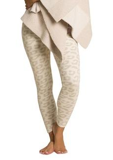 Barefoot Dreams Cozychic Leopard-Print Leggings