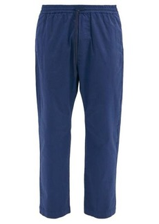 Barena Venezia Bativoga drawstring-waist cotton-blend trousers