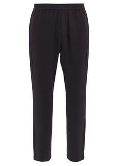 Barena Venezia Bativoga elasticated-waist crepe trousers