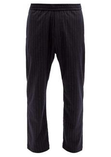 Barena Venezia Bativoga pinstriped wool-blend trousers
