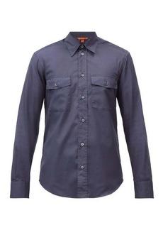 Barena Venezia Cargo-pocket cotton-poplin shirt