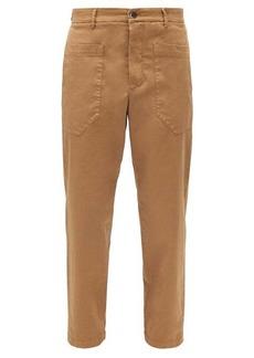 Barena Venezia Florio patch-pocket cotton-blend twill trousers