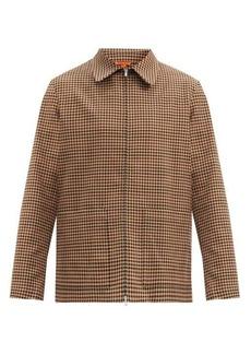 Barena Venezia Marafon checked wool-blend twill jacket
