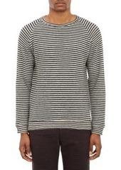 Barena Venezia Men's Stripe Terry Pullover Sweater