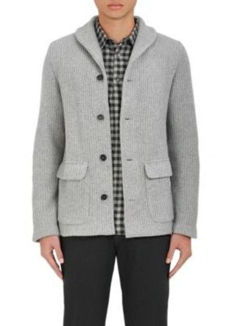 Barena Barena Venezia Men's Wool-Blend Shawl-Collar Cardigan ...