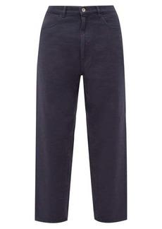 Barena Venezia Mezorio cropped cotton trousers