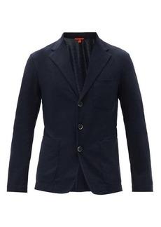 Barena Venezia Patch-pocket cotton-jersey blazer
