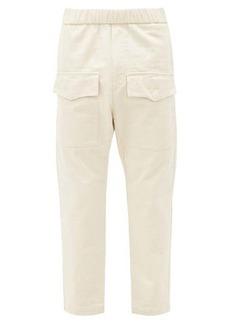Barena Venezia Riofondo cropped cotton-twill trousers