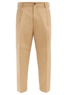 Barena Venezia Tartana cotton trousers