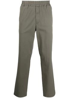 Barena elasticated waistband straight trousers